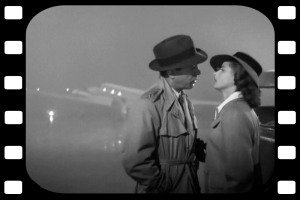Casablanca Bogie and Ingrid
