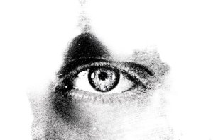eye-black-white-ppt-backgrounds-powerpoint