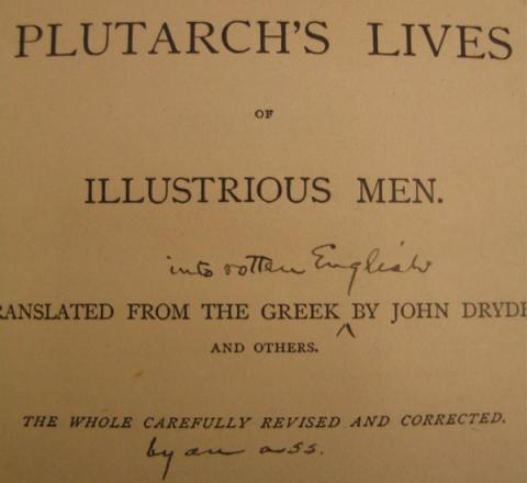 Image of marginalia by Twain