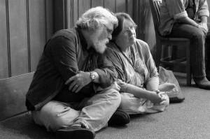 Judith Kitchen with her husband Stan Sanvel Rubin