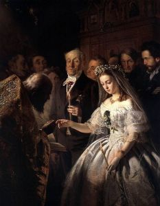 The Arranged Marriage by V. V. Pukirev