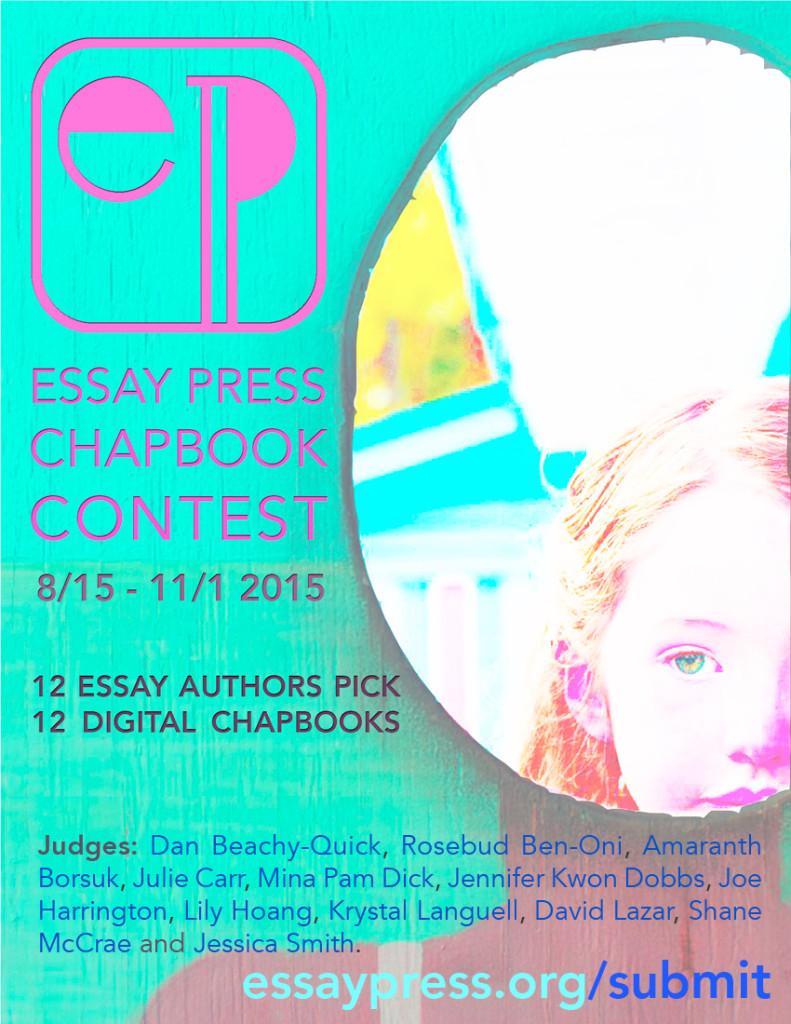 Essay press digital chapbook contest brevity s nonfiction blog