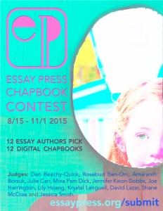Essay Press Chapbook Contest