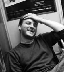 David Wanczyk being intense, ambivalent, and stylish
