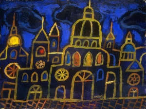Ukranian Nightscape, by Peter Selgin